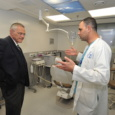 """ביקורו של פרופ' קרל סקורצקי, דיקן הפקולטה לרפואה ע""""ש עזריאלי באוניברסיטת בר אילן"""